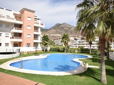 Photo for Comfortable apartment on the golf course, near the beach and activities