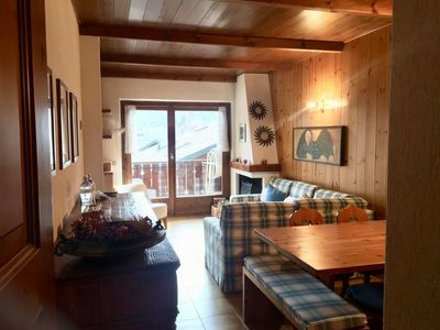 Photo for Residenza Terme Bormio: three-room attic apartment with private garage