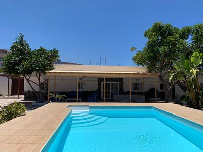 Photo for Beautiful Villa in Arucas with private pool and garden