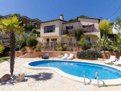 Photo for Club Villamar - Nice and cozy villa with private pool and located at less than 4 km from the beach, a perfect election to spend your summer holiday in Spain