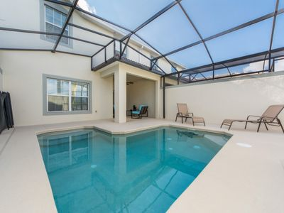 Photo for Pet-Friendly Home near Disney w/ WiFi, Pool, Grill, Complex Golf & Sports Courts