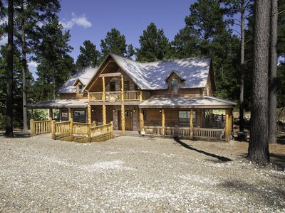 Photo for Brand NEW Luxury Cabin ALL SPRUCED UP Sleeps 18 with Luxury Amenities!