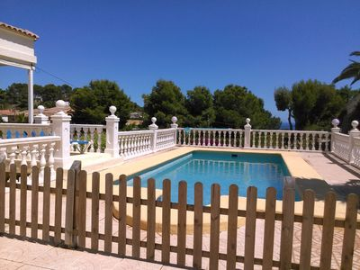 Photo for BENISSA OWN** REDUCED  JULY/AUGUST **  POOL  SEA  VIEWS  WI FI  UK  TV   A/C