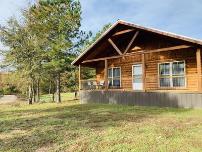 Photo for Luxury Log Cabin on the Little Missouri River