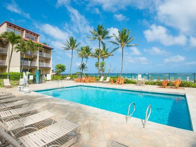 Kapaa Shore Ocean & Pool View Condo