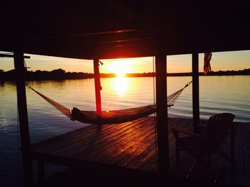 """Sitting on the Dock of the Lake Clay Rental Home For the perfect """"country"""" vacat"""