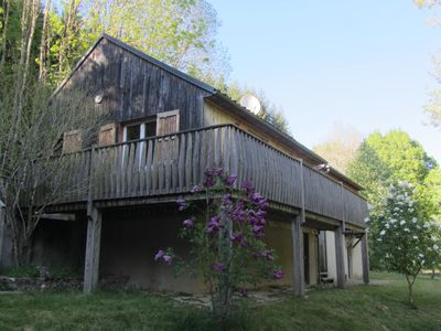 Photo for CHALET near the heart of the Forest LARZAC MILLAU