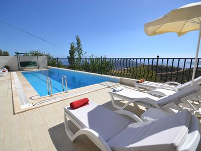 Photo for Four Bedroom Villa with Amazing Sea Views an Totally Private Pool