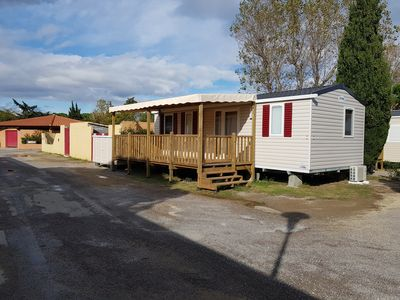 Photo for CASITA 3 (6 / 8PERS) NEW AND WELL EQUIPPED, Camping MARESTANG 4 *