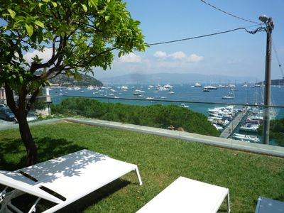 Photo for Apartment with private garden and pool in Portovenere