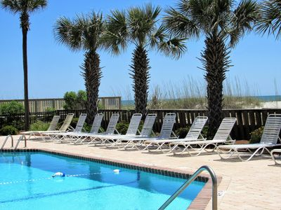 Photo for Stay in this updated sunny condo on your Spring and Summer  Beach Vacation..