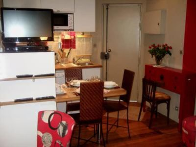 Photo for Paris 11th ardt. Charming studio apt  fully equipped, in the heart of Paris,