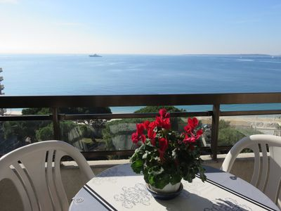 Photo for CENTER BAY-Splendid and vast F1, panoramic sea views, beaches to foot, parking