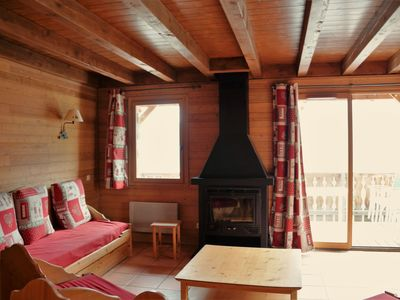 Photo for chalets in Pra Loup, 800 m from centre and ski lifts