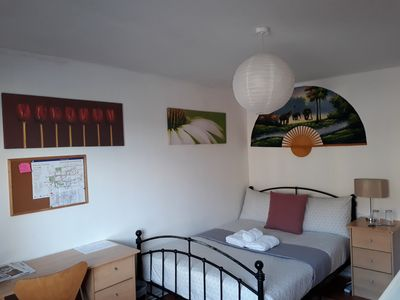 Photo for Spacious double rooms perfect for travelers visiting London for just a few days.