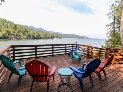 Photo for Spacious bayfront home with amazing view & peaceful location. Watch eagles soar!