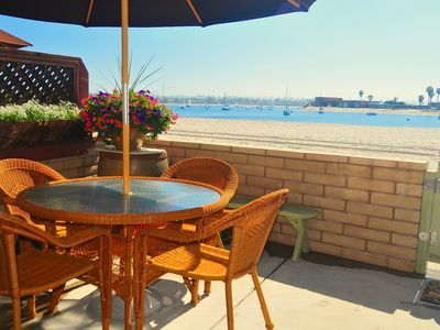 Photo for Beach Front  - WaterFront Bayside Vacation Rental - Book now for Summer Season