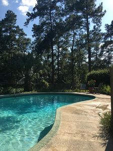 "Photo for 2020 Masters Rental. ""Hydrangea Hill"" Pool. North Augusta- Sleeps 8. 4/6-4/12"