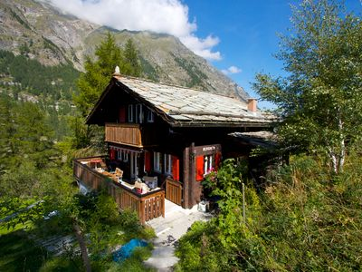 Photo for Chalet Bergheim - Unique, Private, Ski-in/ski-out Swiss Mountain Chalet