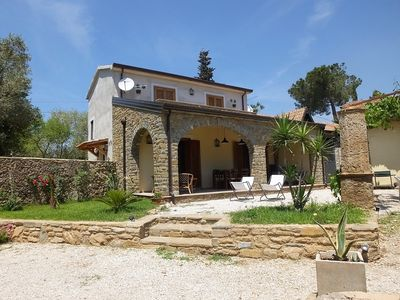 Photo for Old Stone Farmhouse newly renovated with a large garden in Castellabate