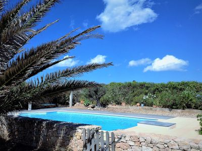 Photo for BEAUTIFUL PROPERTY 10 PEOPLE WITH LARGE POOL.   DIRECT ACCESS TO THE SEA