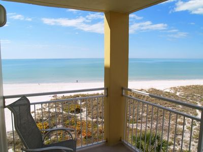 Photo for Upgraded Unit with Sweeping Beach & Gulf Views - Walk to John's Pass Village & Boardwalk - Free Wifi