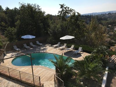 Photo for Beautiful Provencal house in the heart of the hills of Saint Paul de Vence
