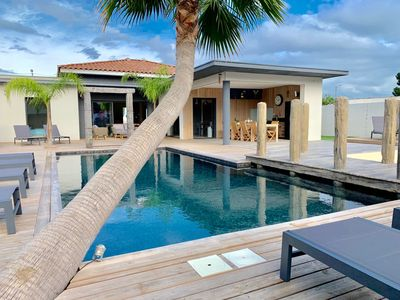Photo for Luxury Villa in Grau d agde, 2 swimming pools 10 persons