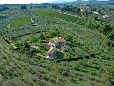 Photo for RELAX BETWEEN OLIVES AND WINEYARDS NEAR FLORENCE