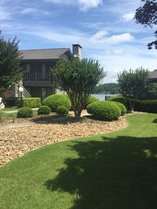 Photo for Newly Listed and Updated Lake Hamilton Waterfront Condo Free Wifi. Great Views.