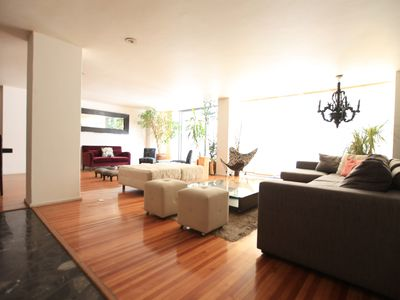 Photo for Modern and large apartment in Polanco 3bed 2bath
