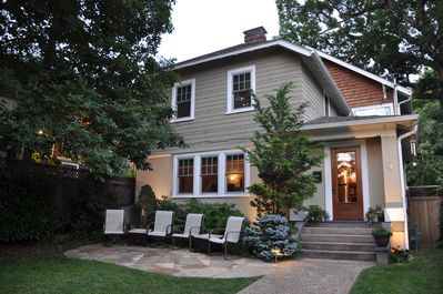 Charming 90-year-old Craftsman Style Home, one mile to Pack Square downtown.
