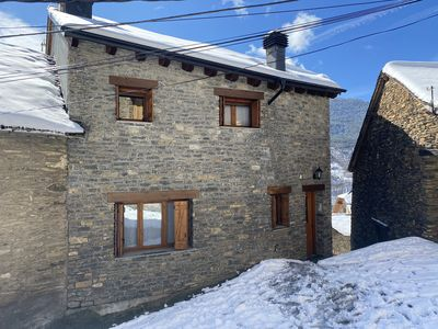 Photo for TOURIST APARTMENT - CAL DOMENEC - PYRENEES - FIREPLACE - RELAX -PARKING FREE