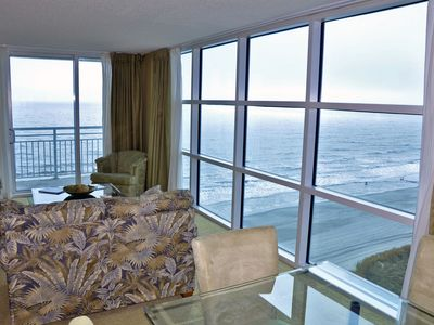 Photo for Luxury 3BR/3BA Oceanfront end unit in Seaside Resort Crescent section of NMB