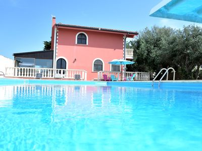 Photo for Domus Sicula, villa with swimming pool