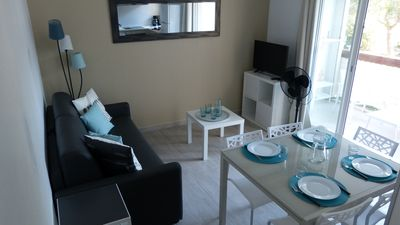"""Photo for T 2 of 35 m2 + balcony, 5 beds, in the sought-after quarter of """"Point zero"""