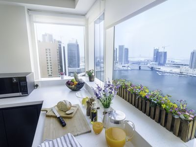 Photo for Adorable 2 bedroom in Business Bay overlooking at the Dubai Canal