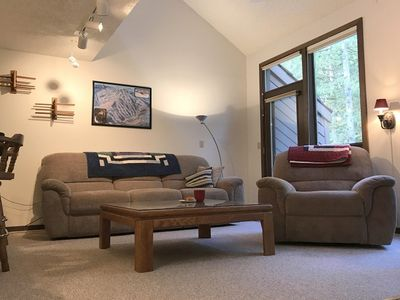 Photo for Mt. Baker Lodging Condo #72 – WOOD FIREPLACE, W/D, DISHWASHER, SLEEPS-4!