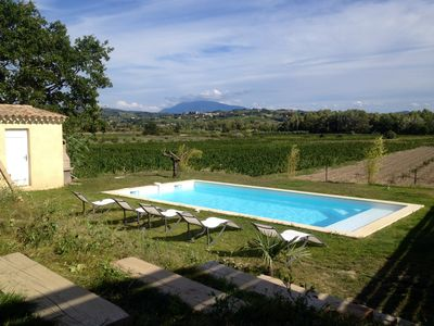 Photo for House with its own pool between vaison and nyons.