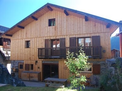 Photo for Chalet Anastasia in Meribel, a charming, traditional chalet sleeping 10