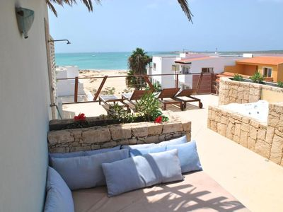 Photo for Beautiful apartment 50 meters from the sea!