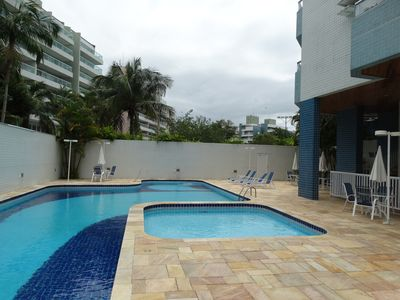 Photo for 03 ROOMS / SUITE - 150 m from the beach - AIR CONDITIONING in the 3 bedrooms and living room