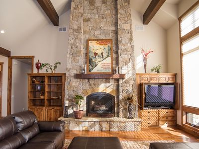 Photo for BEAUTIFULLY APPOINTED LUXURY HOME, NEAR GOLFING AND SKIING!