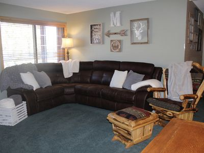 Photo for Beautiful *Ski In/Ski*Oout Giant Steps Condo. 2Bdr, 2 Bath