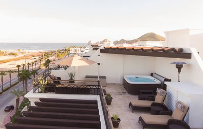 Photo for Luxurious Ocean View Penthouse With Jacuzzi & Walking Distance to Beach & Marina