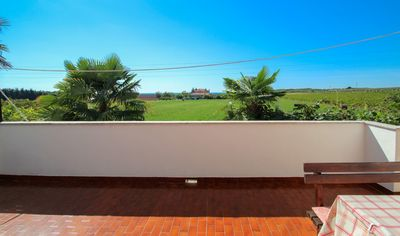 Photo for Apartment Mirjana, balcony with a relaxing view