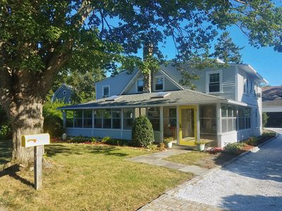 Photo for Updated 5BR, 2500 sq. ft. Beach House 150 Yards from Wonderful Town Beach!
