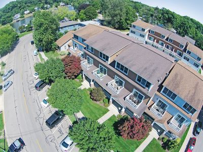 Modern, Spacious Condo In The Heart Of Downtown Saugatuck.