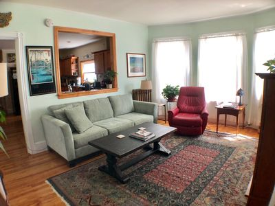 Photo for 3BR home in great neighborhood - walk to ocean beach or downtown, parking, AC