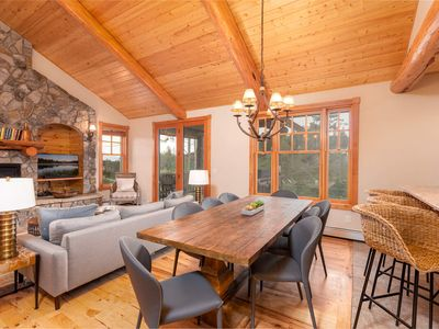 Photo for PET FRIENDLY Private Home | Modern Luxe Cabin | Private Hot Tub | Sleeps 12